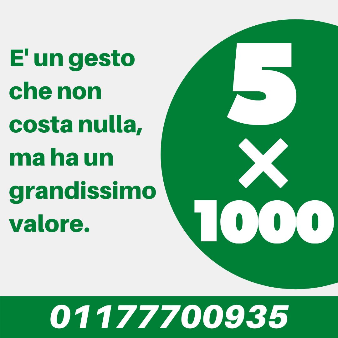 Locandina 5×1000